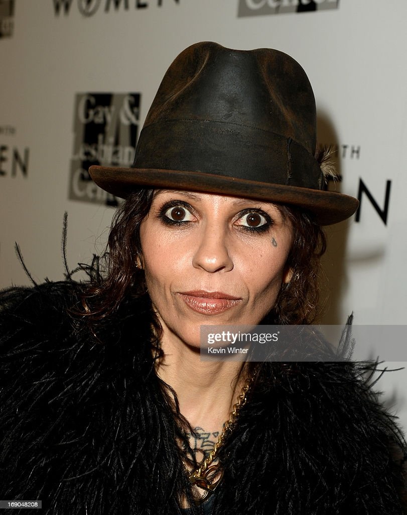 Producer/musician Linda Perry arrives at An Evening With Women benefiting The L.A. Gay & Lesbian Center at the Beverly Hilton Hotel on May 18, 2013 in Beverly Hills, California.
