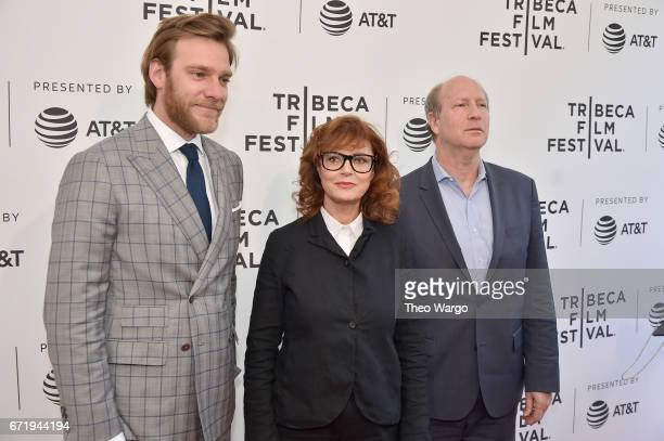 Producers Adam Haggiag Susan Sarandon and Michael Kantor attend 'Bombshell The Hedy Lamarr Story' Premiere during the 2017 Tribeca Film Festival at...