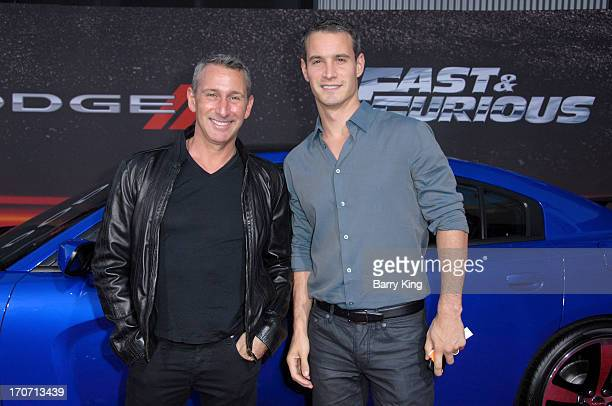Producers Adam Shankman and Frank Meli attend the premiere of 'Fast Furious 6' at Universal CityWalk on May 21 2013 in Universal City California