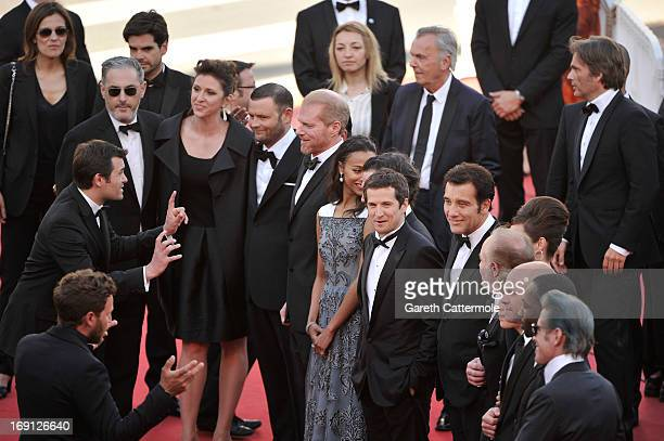 Producers Alain Attal and Molly Conners actors Noah Emmerich Zoe Saldana Billy Crudup Guillaume Canet James Caan Marion Cotillard Clive Owen and Lili...