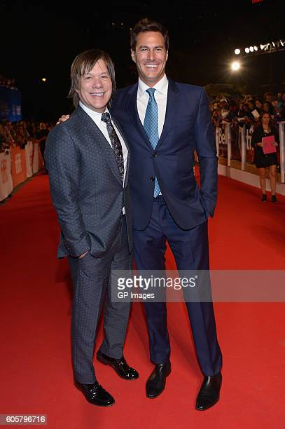 Producers Alan Siegel and Craig Flores attend 'The Headhunter's Calling' premiere during 2016 Toronto International Film Festival at Roy Thomson Hall...