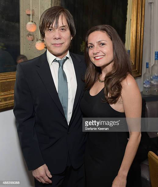 Producers Alan Siegel and Danielle Robinson attend the Septembers of Shiraz TIFF Party Hosted By GREY GOOSE Vodka at Byblos on September 15 2015 in...