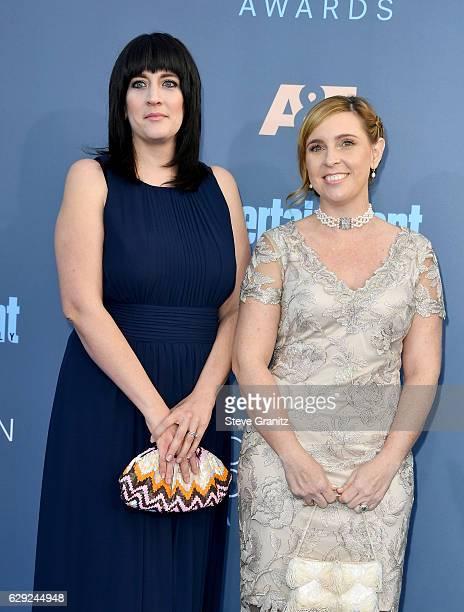 Producers Amanda Marshall and Miranda Bailey attend The 22nd Annual Critics' Choice Awards at Barker Hangar on December 11 2016 in Santa Monica...