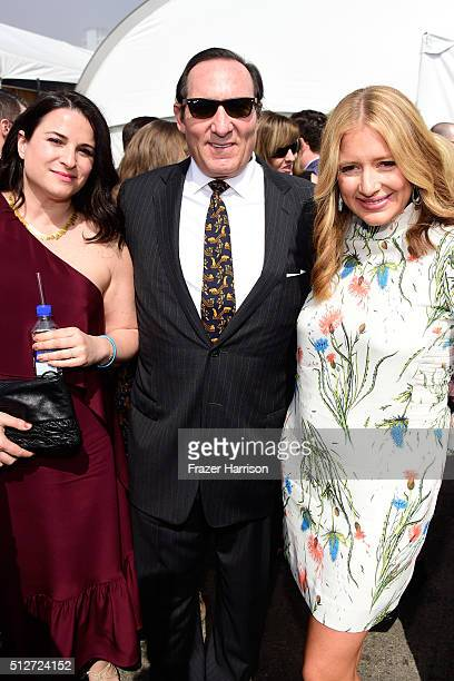 Producers Amy Kaufman Daniel Crown and Daniela Taplin Lundberg attends the 2016 Film Independent Spirit Awards on February 27 2016 in Santa Monica...