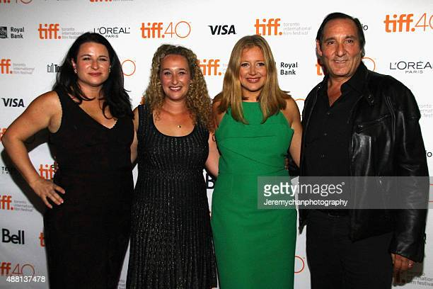 Producers Amy Kaufman Riva Marker Daniela Taplin Lundberg Daniel Crown and actor Idris Elba attend the 'Beasts Of No Nation' premiere during the 2015...