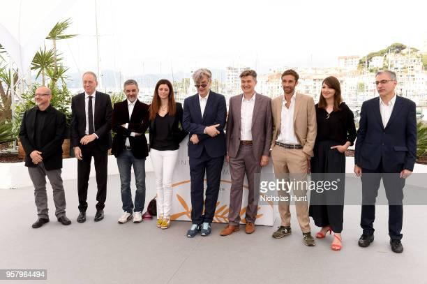 Producers Andrea Gambetta Stefano D'Agostino Alessandro Lo Monaco and Samanta Gandolfi Branca director Wim Wenders writer David Rosier actor Ignazio...