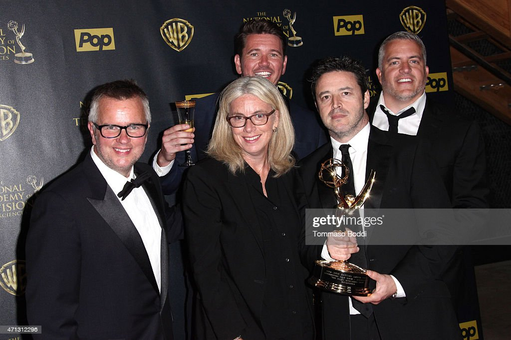 42nd Annual Daytime Emmy Awards - Press Room : News Photo