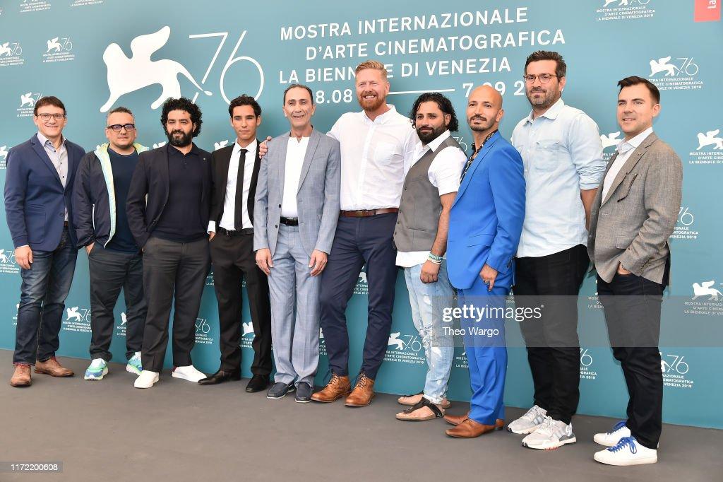 """Mosul"" Photocall - The 76th Venice Film Festival : News Photo"