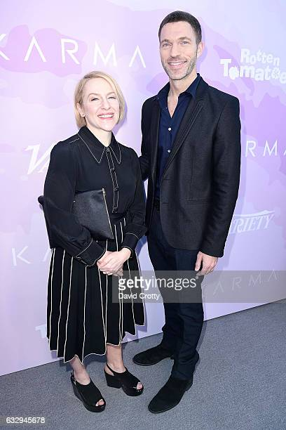 Producers Arianne Sutner and Travis Knight arrive at Variety's Celebratory Brunch Event For Awards Nominees Benefiting Motion Picture Television Fund...