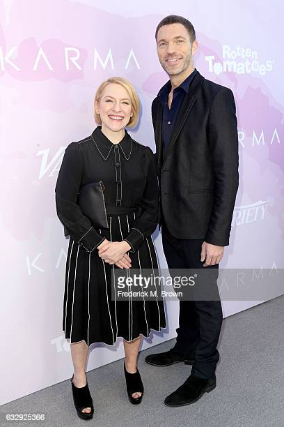 Producers Arianne Sutner and Travis Knight attend Variety's Celebratory Brunch Event For Awards Nominees benefitting Motion Picture Television Fund...