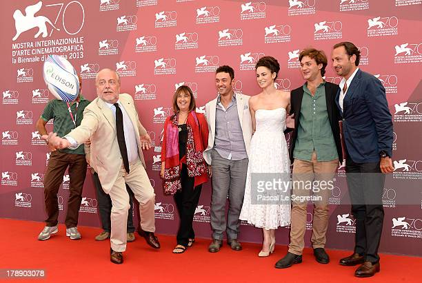 Producers Aurelio De Laurentiis Elisabetta Bruscolini director Enrico Maria Artale actors Margherita Laterza Lorenzo Richelmy and producer Luigi de...