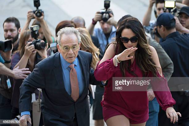 UNIT 'Producer's Backend' Episode 1603 Pictured Ron Rifkin as Marvin Exley Stevie Lynn Jones as Tensley Evans