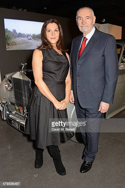 Producers Barbara Broccoli and Michael G Wilson attend the 'Bond In Motion' photocall at the London Film Museum on March 18 2014 in London England