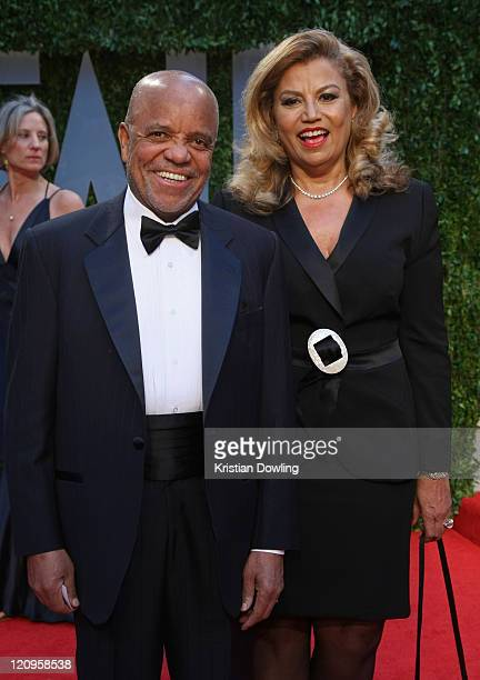 Producers Berry Gordy and Suzanne de Passe arrive at the 2009 Vanity Fair Oscar Party hosted by Graydon Carter held at the Sunset Tower on February...