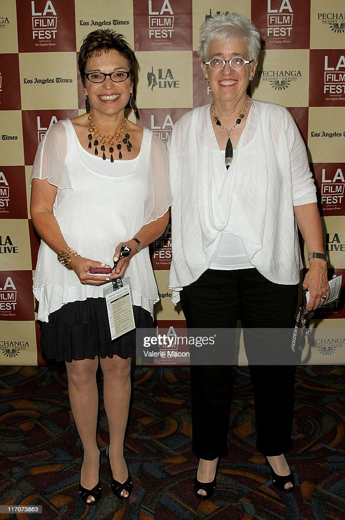 Producers Beverly Kopf and Bobbie Birleffi attend the 'Wish Me Away' Q & A during the 2011 Los Angeles Film Festival held at Regal Cinemas L.A. LIVE on June 20, 2011 in Los Angeles, California.