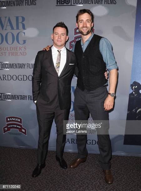 Producers Channing Tatum and Reid Carolin attend the premiere of War Dog A Soldier's Best Friend at Directors Guild Of America on November 6 2017 in...