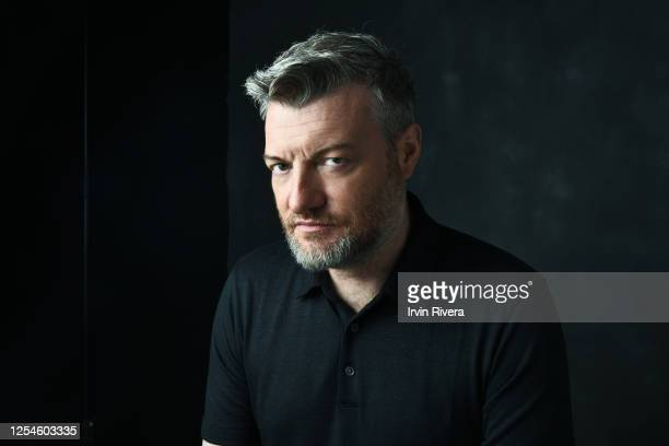 Producers Charlie Brooker is photographed for The Wrap on June 6, 2019 in Los Angeles, California.