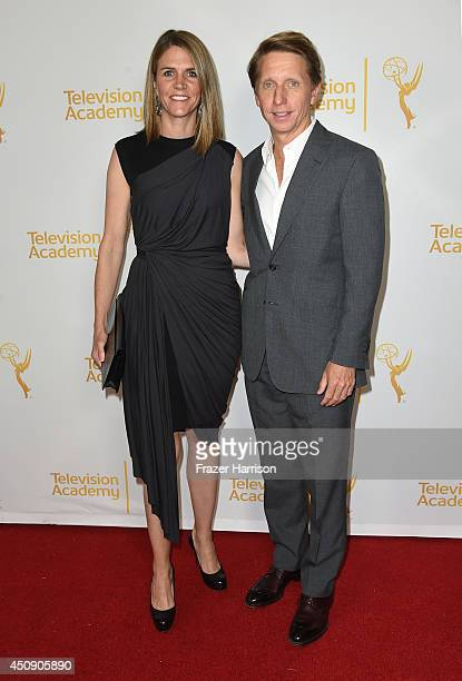 Producers Colleen Bell and Bradley Bell attend Television Academy's Daytime Programming Peer Group's 41st Annual Daytime Emmy Nominees Celebration at...