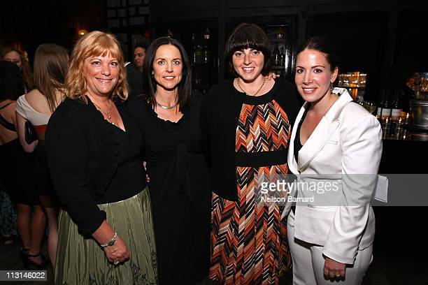 Producers Connie Cummings Anne Renton Jennifer Dubin and Coro Olsen attend The Perfect Family's premiere afterparty at the Tribeca Film Festival...