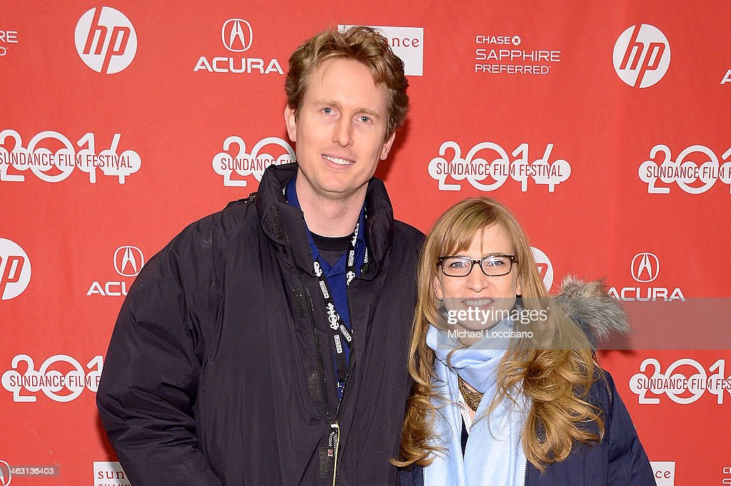 Producers Couper Samuelson and Helen Estabrook attend the premiere of 'Whiplash' at the Eccles Center Theatre during the 2014 Sundance Film Festival on January 16, 2014 in Park City, Utah.