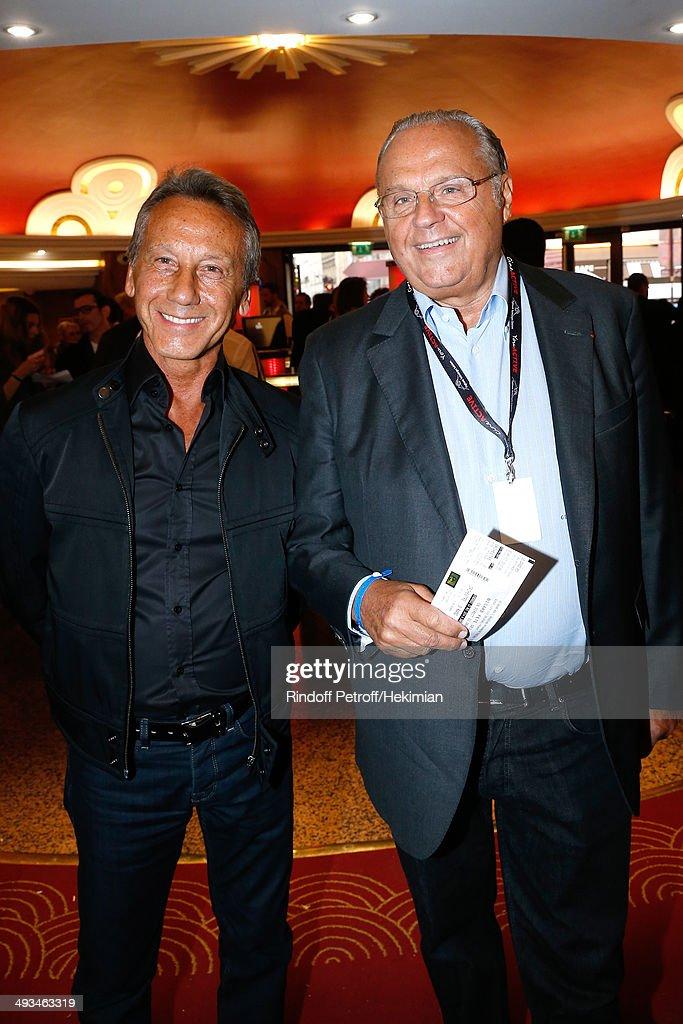 """Bigard Fete Ses 60 Ans"" : One Man Show At Le Grand Rex In Paris"