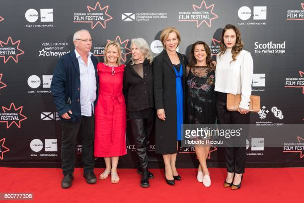 Producers David Broder producer Lizzie Pickering actress Karin Bertling actress Juliet Stevenson director and writer Polly Steele and actress Jodhi...