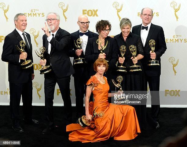 Producers David Coatsworth Gary Goetzman Jane Anderson and Steve Shareshian director Lisa Cholodenko and actors Frances McDormand and Richard Jenkins...