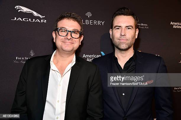 Producers David Livingstone and Stephen Beresford attend the BAFTA Los Angeles Tea Party at The Four Seasons Hotel Los Angeles At Beverly Hills on...