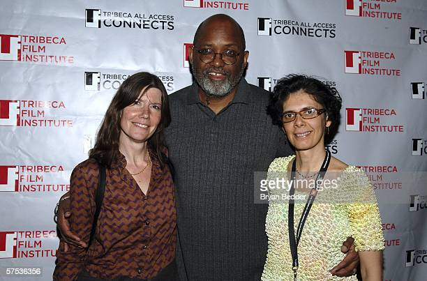 Producers Diane Wireman, Sam Pollard and Paulahere Dia attend the TAA Closing Night Party during the 5th Annual Tribeca Film Festival May 4, 2006 in...