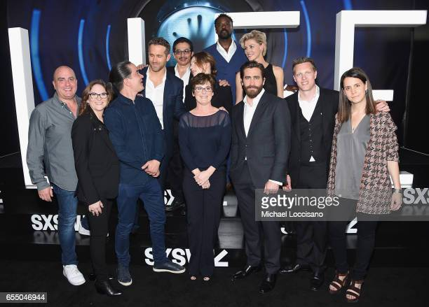 Producers Don Granger and Dana Goldberg Director Daniel Espinosa producer Bonnie Curtis actor Jake Gyllenhaal and producers David Ellison and Julie...