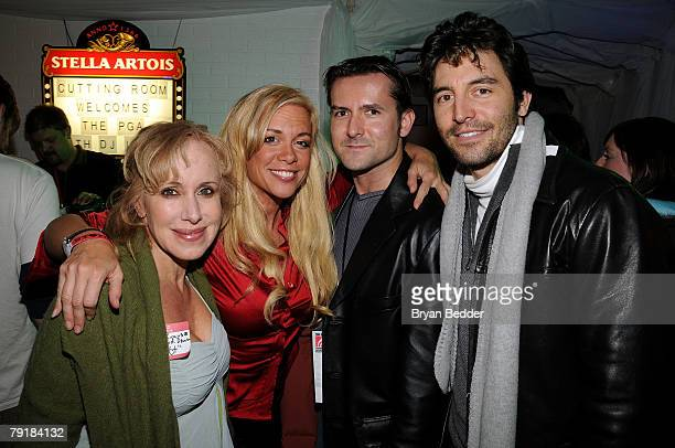 Producers Elana Krausz Chase Masterson James Kerwin and Josh Comen attend the PGA Producer's Lab Screening Series during the 2008 Sundance Film...