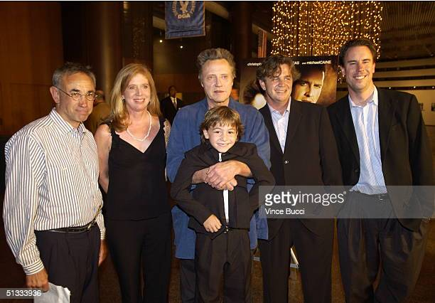 Producers Elliott Lewitt Julie Kirkham actors Christopher Walken Jonah Bobo director/writer Jordan Roberts and President of Warner Bros Independent...