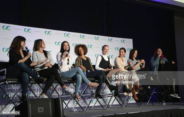 Producers Emily Andras and Vanessa Piazza actresses Zoie Palmer Erica Luttrell Rachel Skarsten Emmanuelle Vaugier Anna Silk and Bella Books Blog...