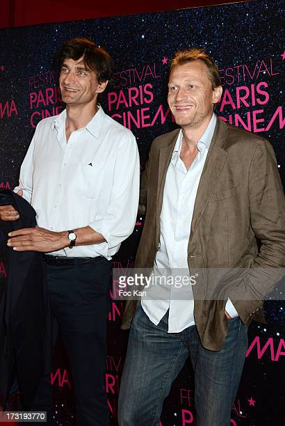 Producers Eric Altmayer and Nicolas Altmayer attend the 'Le Grand Mechant Loup' Paris premiere at Cinema Gaumont Opera on July 9 2013 in Paris France