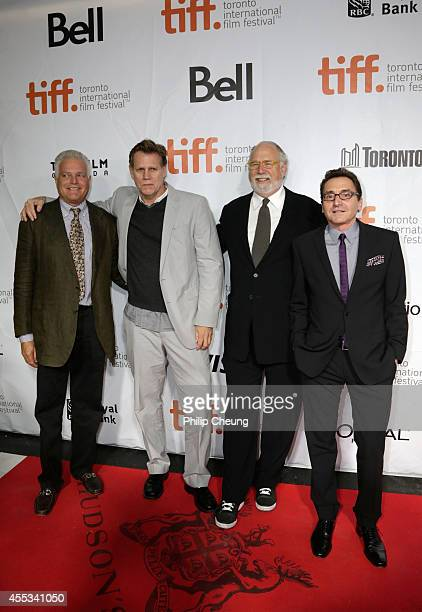 Producers Eugene Musso Al Corley Executive Producer Jonathan Dana and Producer Bart Rosenblatt attend 'The Forger' premiere during the 2014 Toronto...