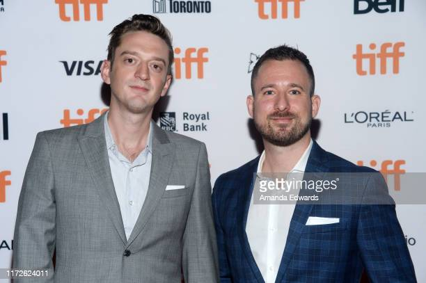 Producers Fraser Ash and Kevin Krikst arrive at the 2019 Toronto International Film Festival Clifton Hill Premiere at the Ryerson Theatre on...