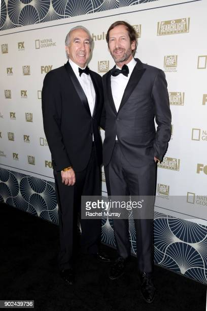Producers Gary Barber and Kevin Ulrich attend Hulu's 2018 Golden Globes After Party at The Beverly Hilton Hotel on January 7 2018 in Beverly Hills...