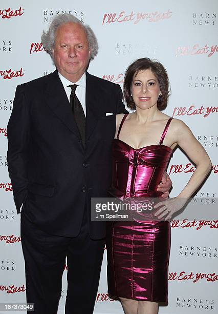 Producers Graydon Carter and Arielle Tepper Madover attend the I'll Eat You Last Broadway Opening Night at the Booth Theatre on April 24 2013 in New...