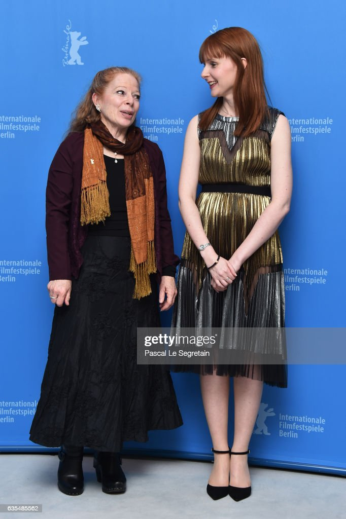 Producers Heather Haldane and Susan Mullen attend the 'Maudie' photo call during the 67th Berlinale International Film Festival Berlin at Grand Hyatt Hotel on February 15, 2017 in Berlin, Germany.