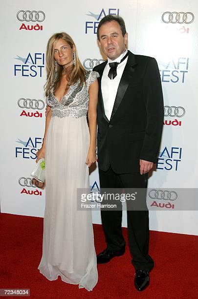 Producers Holly Wiersma and Michel Litvak arrive at the AFI FEST presented by Audi opening night gala of Bobby at the Grauman's Chinese Theatre on...