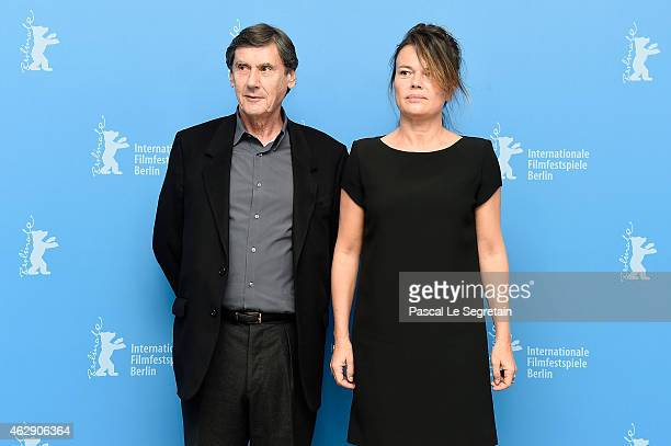 Producers Jean Pierre Guerin and Kristina Larsen attend the 'Diary of a Chambermaid' photocall during the 65th Berlinale International Film Festival...