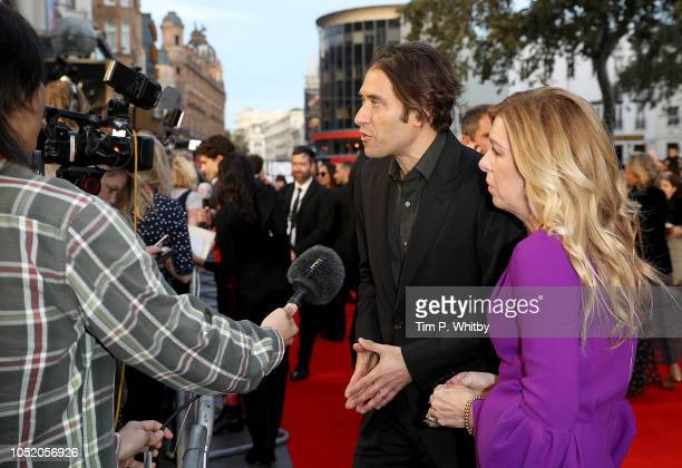 Producers Jeremy Kleiner and Dede Gardner attend the UK Premiere of Beautiful Boy Headline gala during the 62nd BFI London Film Festival on October...