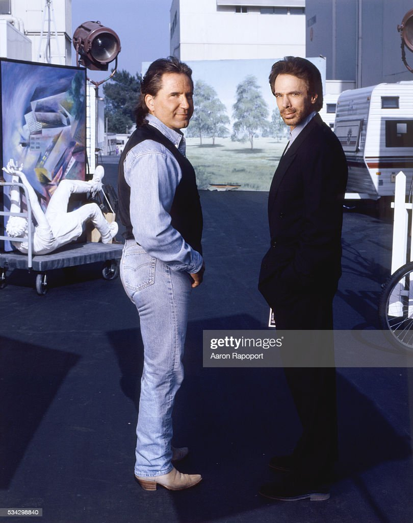 Producers Jerry Simpson and Jerry Bruckheimer