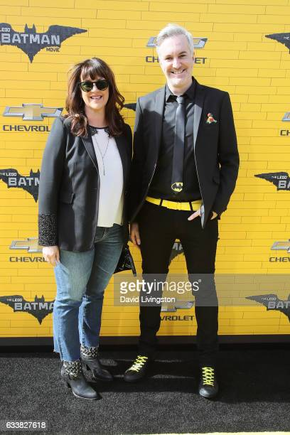 Producers Jill Wilfert and Matthew Ashton attend the Premiere of Warner Bros Pictures' 'The LEGO Batman Movie' at the Regency Village Theatre on...