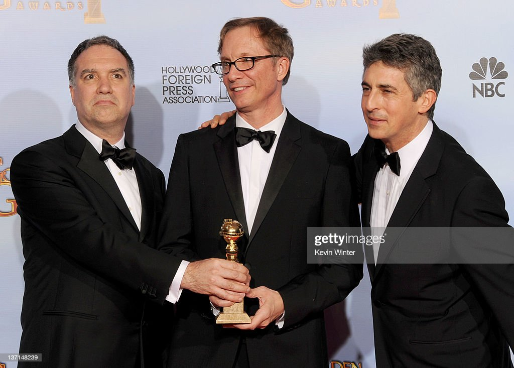 69th Annual Golden Globe Awards - Press Room : News Photo