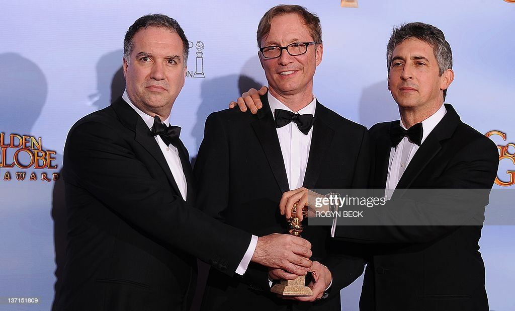 (L-R) Producers Jim Taylor, Jim Burke an : News Photo