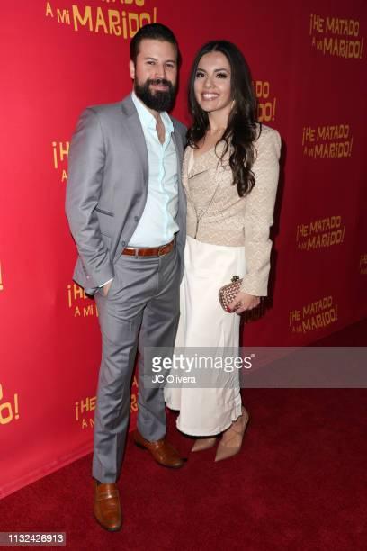 Producers Jo Enriquez and Daniela Ruiz attend 'HE MATADO A MI MARIDO' Los Angeles Premiere at Harmony Gold Theatre on February 26 2019 in Los Angeles...