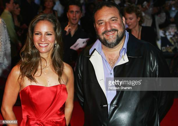 Producers Joel Silver and Susan Downey attend the World Premiere of 'RocknRolla' held at the Odeon West End Leicester Square on September 1 2008 in...