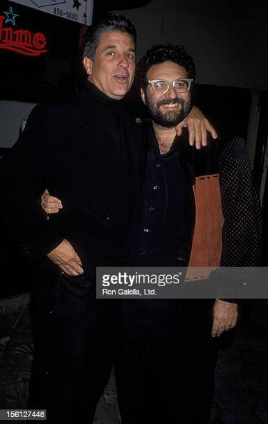 Producers Jon Peters and Joel Silvers attend the world premiere of Bram Stoker 'Dracula' on November 10 1992 at Mann Chinese Theater in Hollywood...
