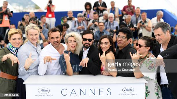 Producers Julie Gayet andr Nadia Turincev actor Stephane Rideau actress Romina Iniesta director Alejandro Fadel actress Tania Casciani actor Victor...